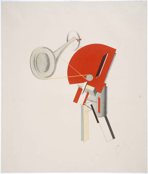 The Announcer - El Lissitzky