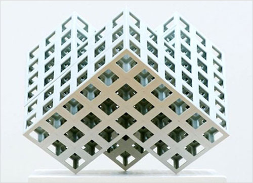Lattice-Receptacles - Yoichiro-Kamei