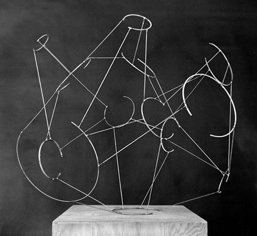 Portrait of an Atom - Kenneth Snelson