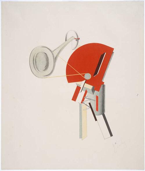 The Announcer - El Lissitzky