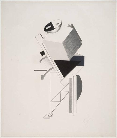 Postman - El Lissitzky