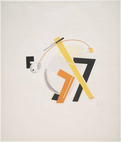 Old Man - El Lissitzky